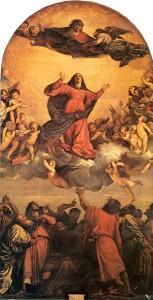 La subida de la Virgen